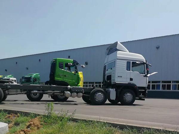 重卡车辆漆